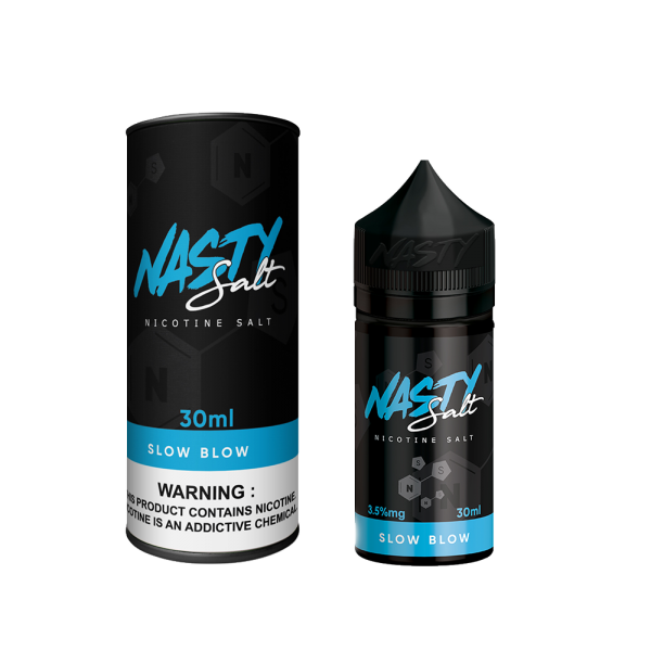 Nasty Salt – Slow Blow – 30ML Elektronik Sigara Likit